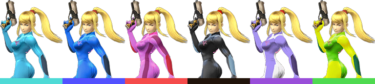 how to get zero suit samus brawl