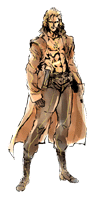 Brawl Sticker Liquid Snake (MGS The Twin Snakes).png