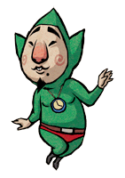 Brawl Sticker Tingle (Zelda Wind Waker).png