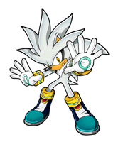 Brawl Sticker Silver The Hedgehog (Sonic The Hedgehog).png
