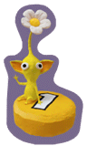 Brawl Sticker Yellow Pellet (Pikmin 2).png