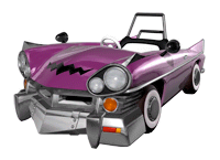 Brawl Sticker Wario Car (Mario Kart DD!!).png