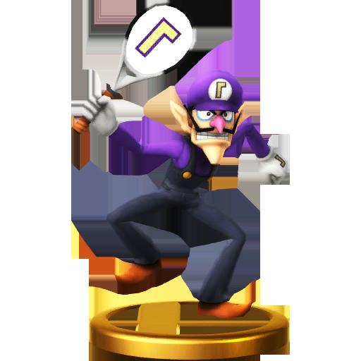 Waluigi 2.5″ World of Nintendo Figure Review ...  Ice Waluigi
