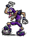 Brawl Sticker Waluigi (Super Mario Strikers).png
