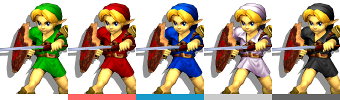 Image result for ssbm link costume