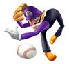 mario baseball coloring pages - photo#33