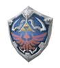 Brawl Sticker Hylian Shield (Zelda Twilight Princess).png