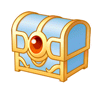 Brawl Sticker Treasure Chest (Kirby Squeak Squad).png