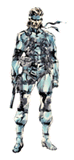 Brawl Sticker Solid Snake (MGS2 Sons of Liberty).png