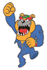 Brawl Sticker Dribble (WarioWare MPG).png