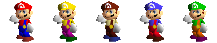 Alternate Costume SSB