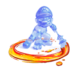Brawl Sticker Shadow Mario (Super Mario Sunshine).png