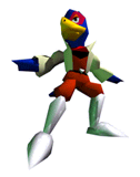 Brawl Sticker Falco (Star Fox 64).png