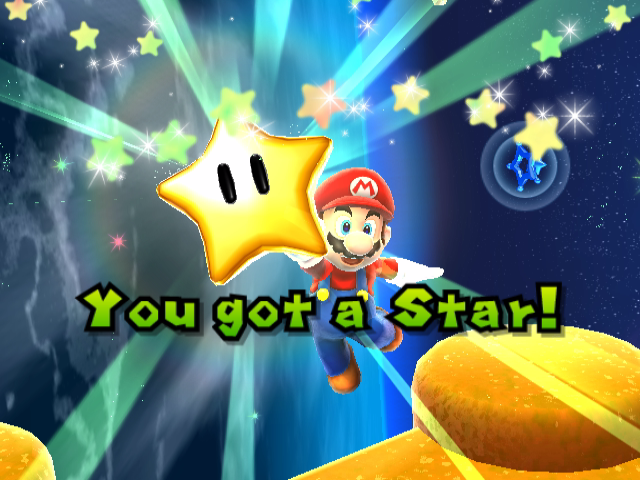 power star super mario galaxy - photo #11