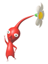 Brawl Sticker Red Pikmin (Pikmin).png