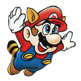Brawl Sticker Raccoon Mario (Super Mario Bros. 3).png