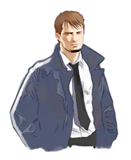 Brawl Sticker Kyle Hyde (Hotel Dusk Room 215).png