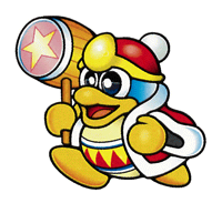 Brawl Sticker King Dedede (Kirby Super Star).png