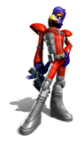 Brawl Sticker Falco (Star Fox Assault).png