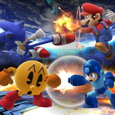 Mario Vs Sonic Vs Megaman Vs Pacman The FINAL Final Battle...