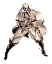 Brawl Sticker Revolver Ocelot (MGS2 Sons of Liberty).png