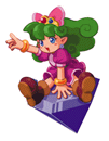 Brawl Sticker Jewel Fairy Ruby (Nintendo Puzzle Collection).png