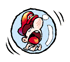 Brawl Sticker Bubble Baby Mario (Yoshi's Island).png