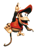 Brawl Sticker Diddy Kong (Donkey Kong Country).png