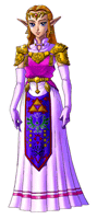 Brawl Sticker Zelda (Zelda Ocarina of Time).png