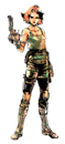 Brawl Sticker Meryl Silverburgh (MGS The Twin Snakes).png