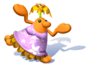 Brawl Sticker Female Pianta (Super Mario Sunshine).png