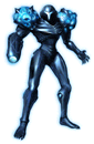 Brawl Sticker Dark Samus (Metroid Prime 2 Echoes).png