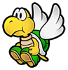 Brawl Sticker Paratroopa (Super Paper Mario).png