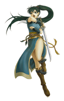 Brawl Sticker Lyn (Fire Emblem).png