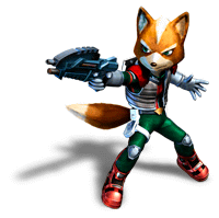 Brawl Sticker Fox (Star Fox Assault).png