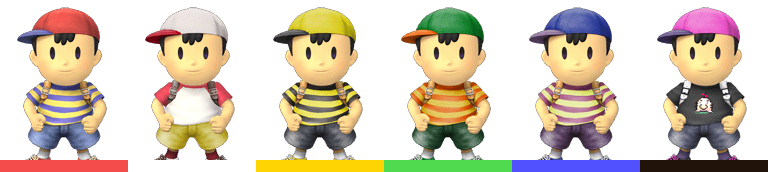 Why isn't Ninten in The Smash Brothers Series? « EarthBound