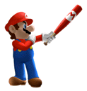 Brawl Sticker Mario (Mario Superstar Baseball).png