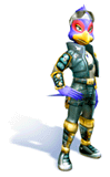 Brawl Sticker Falco (Star Fox Adventures).png