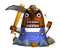Brawl Sticker Mr. Resetti (Animal Crossing WW).png