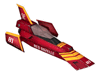 Brawl Sticker Red Gazelle (F-Zero GX).png
