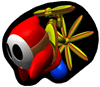 Brawl Sticker Propeller Shy Guy (Yoshi's Story).png
