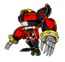 Brawl Sticker E-123 Omega (Sonic Heroes).png