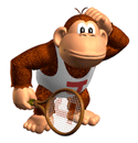 Brawl Sticker Donkey Kong Jr. (Mario Tennis).png