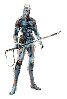 Brawl Sticker Gray Fox (MGS The Twin Snakes).png