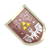 Brawl Sticker Hylian Shield (Zelda Minish Cap).png