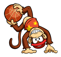 Brawl Sticker Diddy Kong (Mario Hoops 3-on-3).png