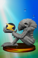 Chozo Statue Trophy.png