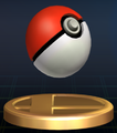 Poke Ball - Brawl Trophy.png