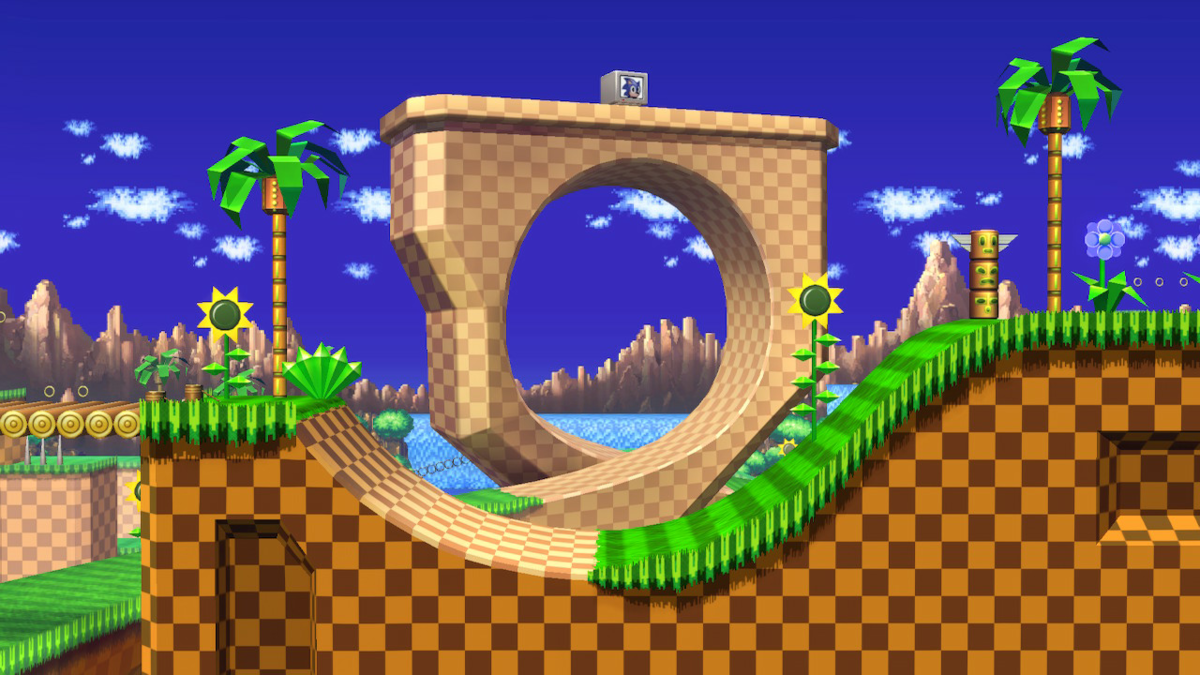 Green Hill Zone Smashwiki The Super Smash Bros Wiki