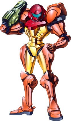 Samus in Super Metroid